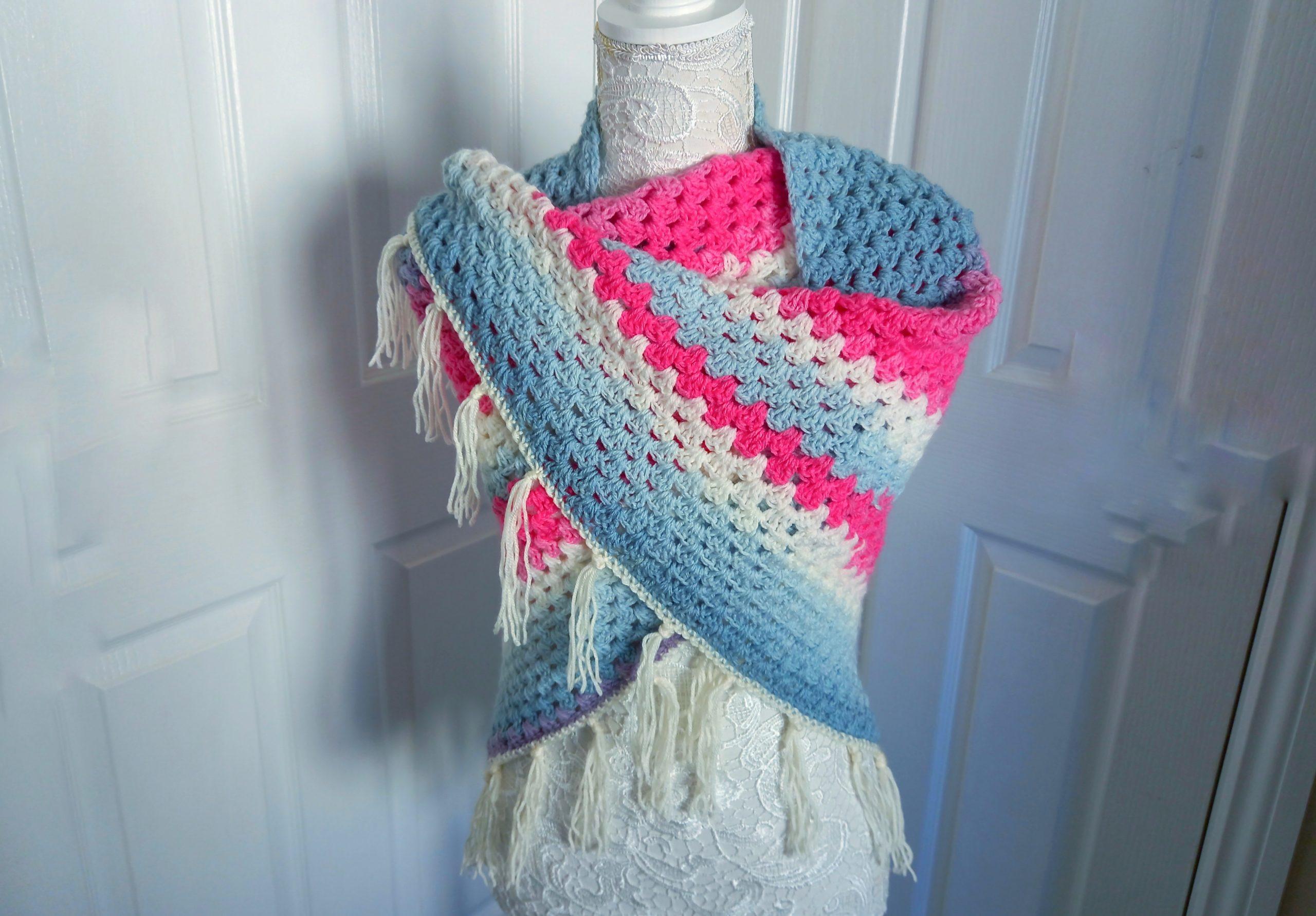 Crochet The Elena Boho Wrap