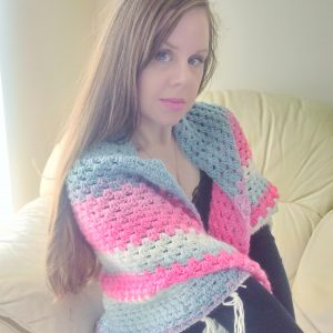 Crochet The Elena Boho Wrap