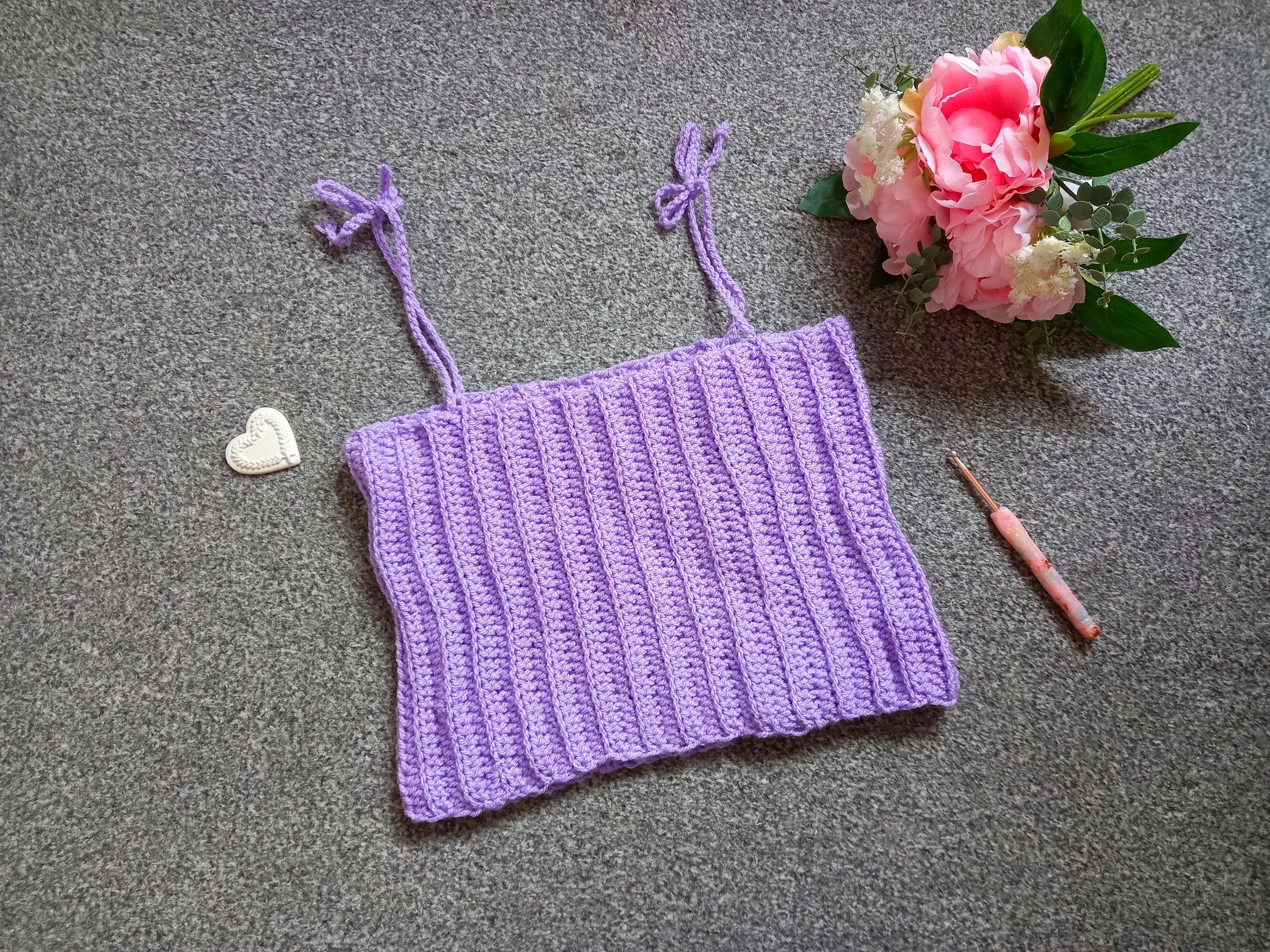 Crochet The Lilac Summer Top