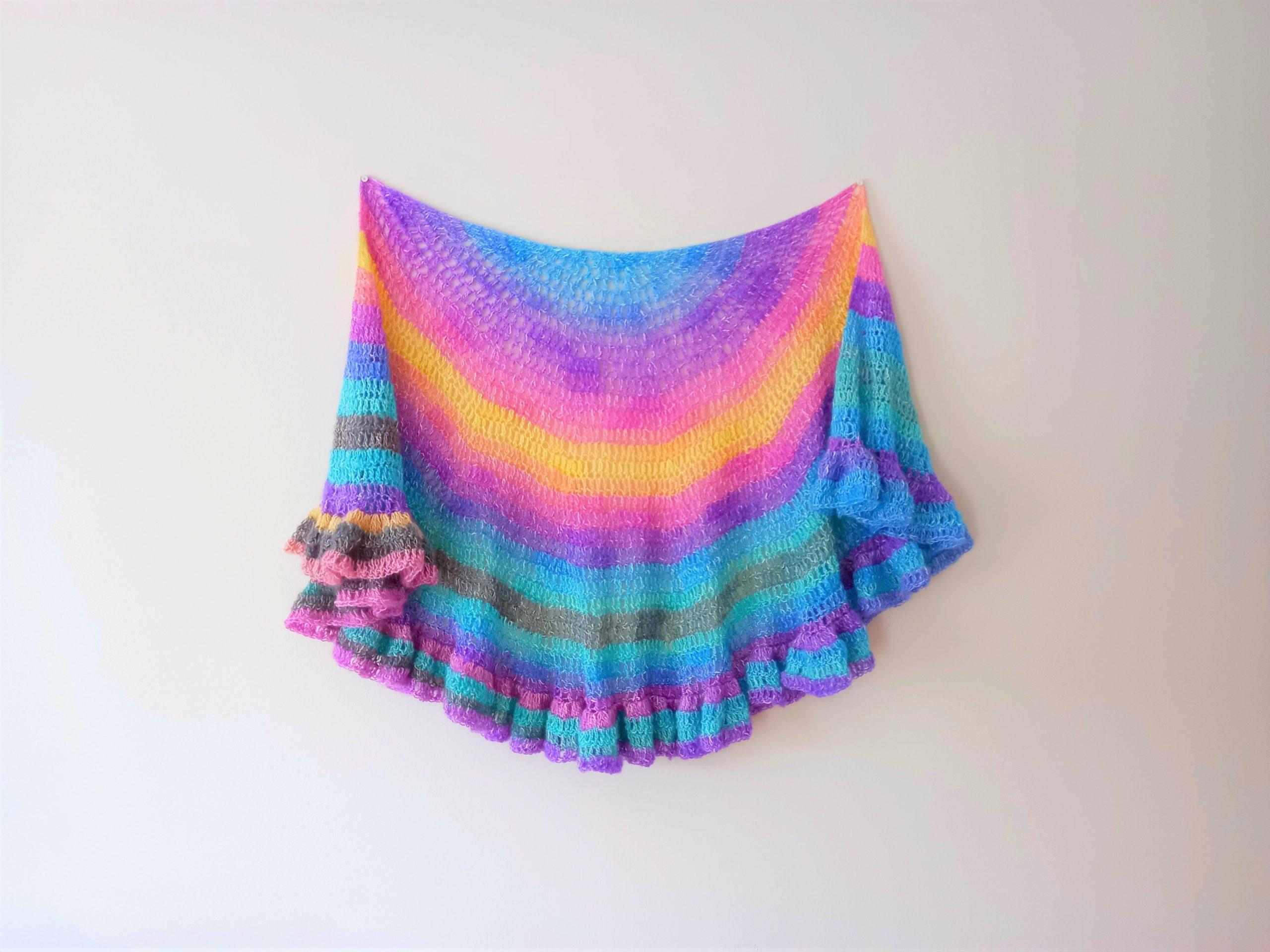 Crochet The Unique Unicorn Shawl
