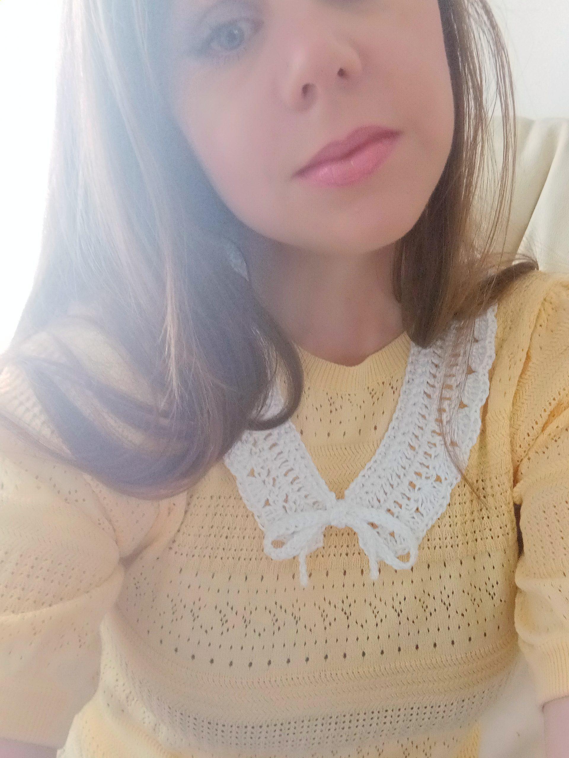 Crochet Feminine Vintage Collar