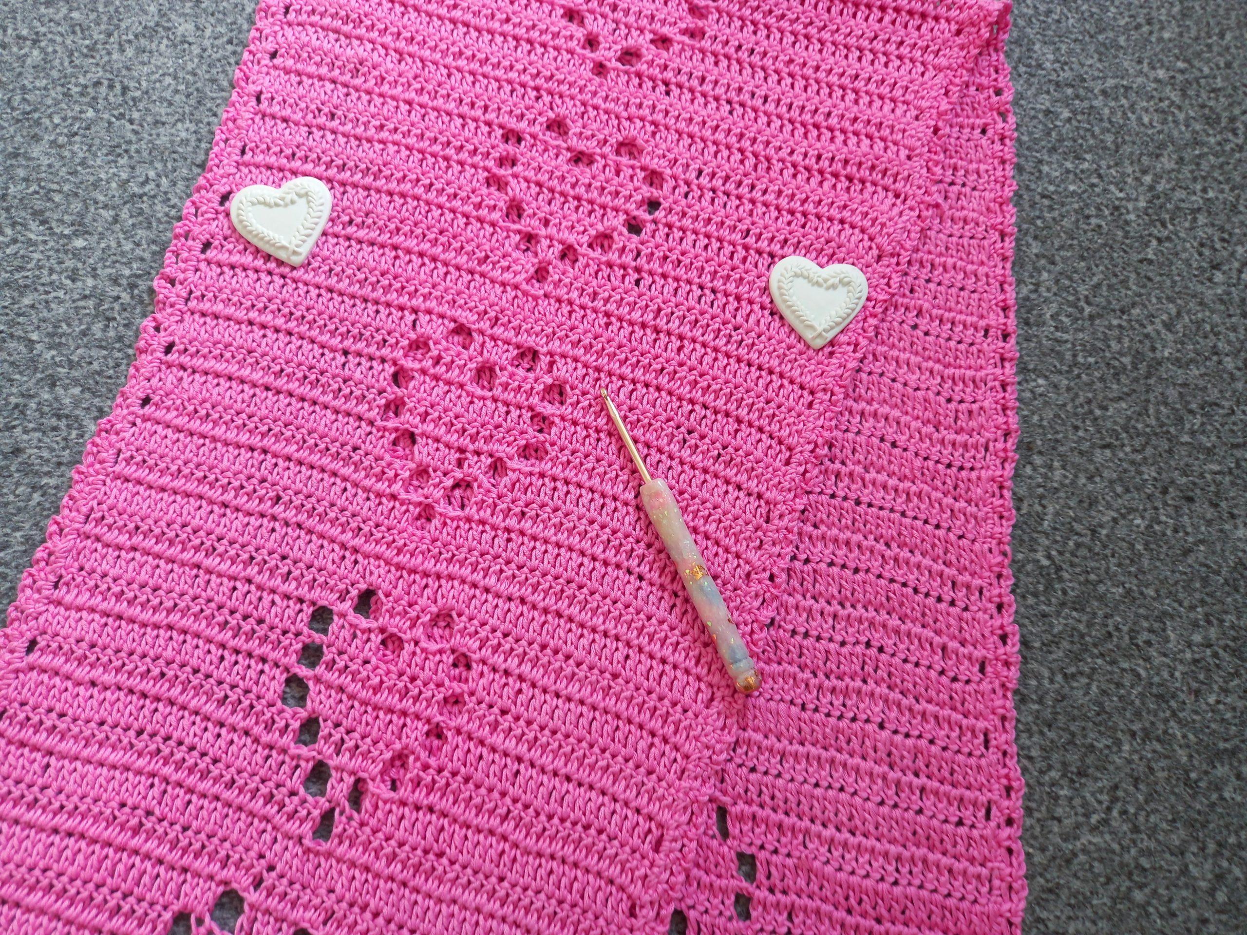 Tejido a crochet The Sweet Love Regency