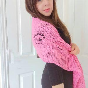 Crochet The Sweet Love Regency Wrap