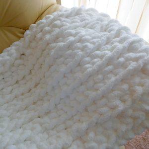 Hand Crochet Super Chunky Blanket