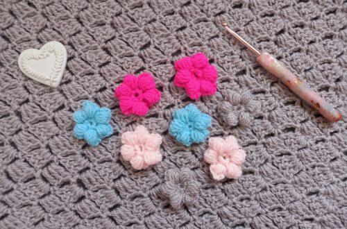 Crochet Puff Flower Beginner Tutorial